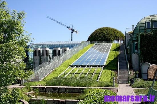 بررسی کاربرد انرژی خورشیدی در ساختمان های سبز