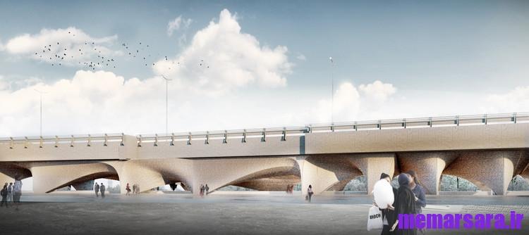 تبدیل پل میرداماد تهران به موزه 002