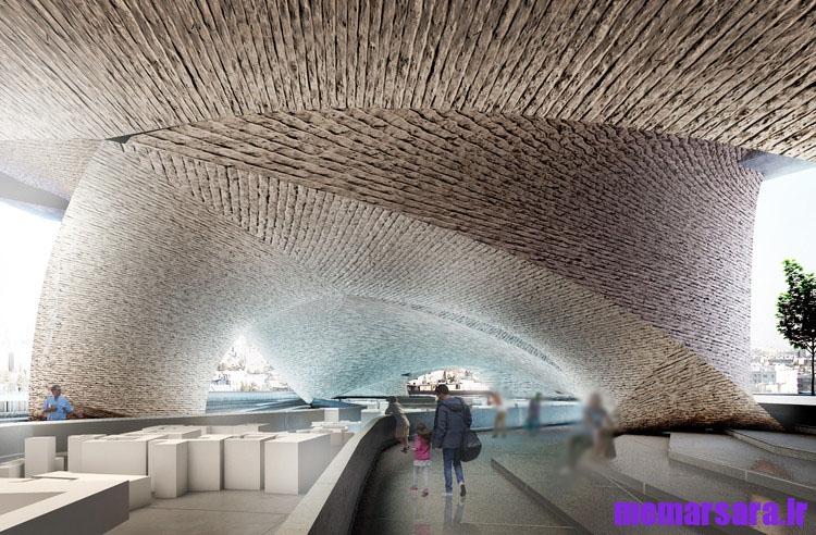 تبدیل پل میرداماد تهران به موزه 003