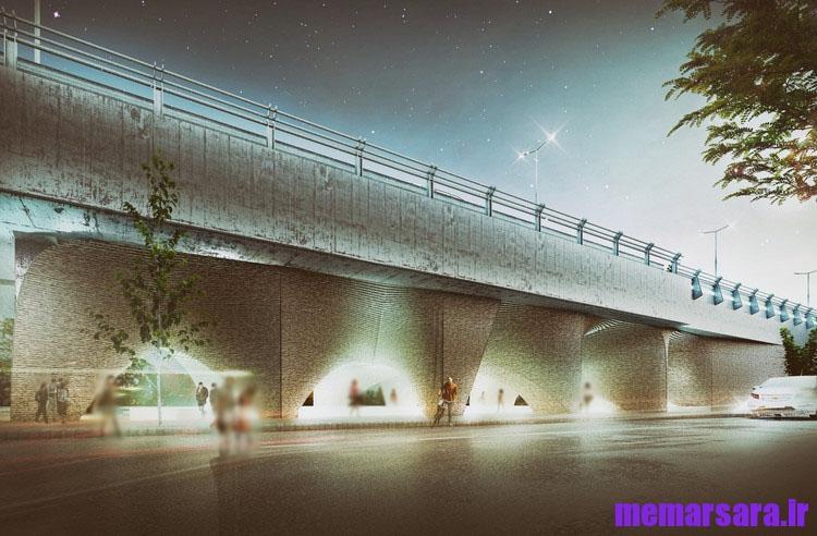 تبدیل پل میرداماد تهران به موزه004