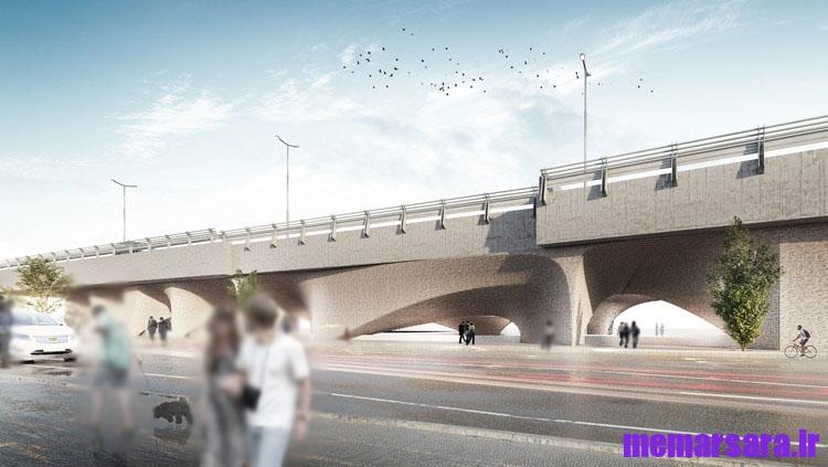 تبدیل پل میرداماد تهران به موزه008