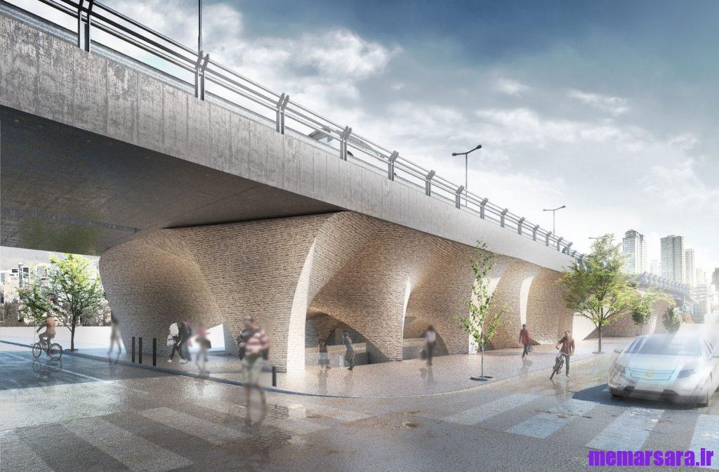 تبدیل پل میرداماد تهران به موزه