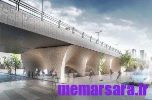 تبدیل پل میرداماد تهران به موزه011