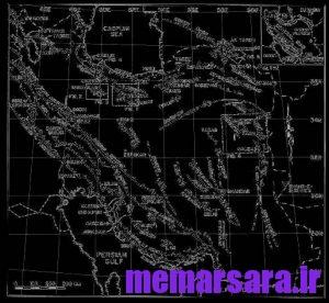 دانلود نقشه اتوکدی ایران