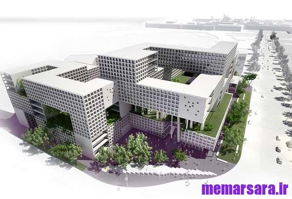 دانلود مطالعات طراحی مجتمع مسکونی