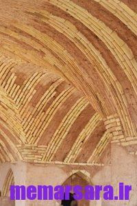 معماری ایرانی با هدسه ای پیچیده