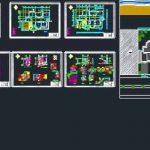 دانلود نقشه اجرایی ویلا دوبلکس