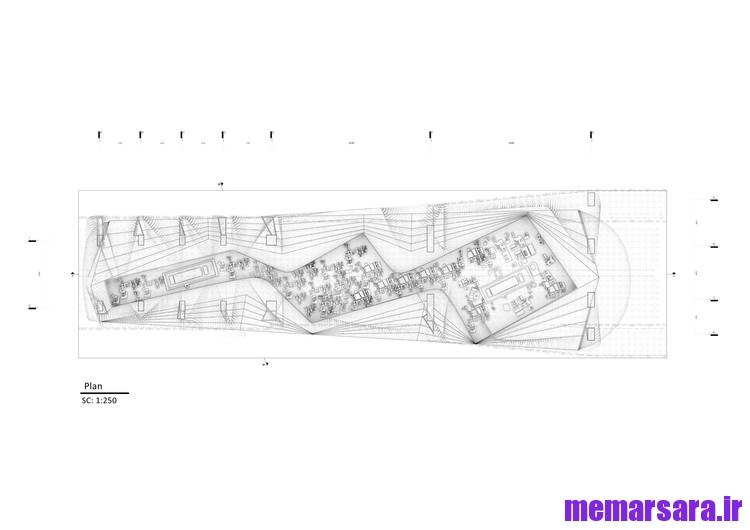 نقشه تبدیل پل میرداماد تهران به موزه007