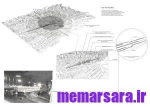 نقشه تبدیل پل میرداماد تهران به موزه010