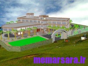 دانلود پلان خوابگاه دانشجویی