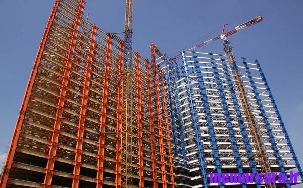 دانلود گزارش كارآموزی ساختمان
