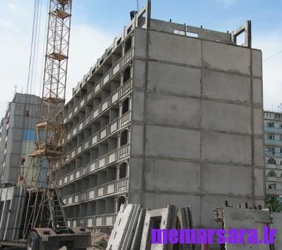 دانلود گزارش کارآموزی ساختمان بتنی