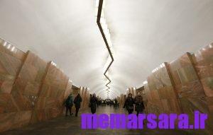 زیباترین متروی جهان در مسکو ! 001