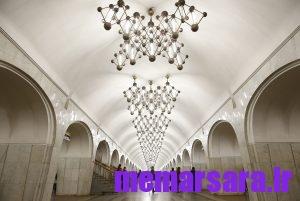 زیباترین متروی جهان در مسکو ! 009