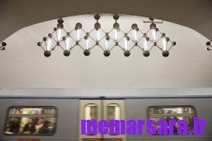 زیباترین متروی جهان در مسکو ! 012