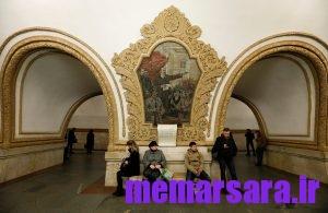 زیباترین متروی جهان در مسکو ! 013