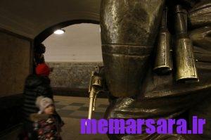 زیباترین متروی جهان در مسکو ! 016
