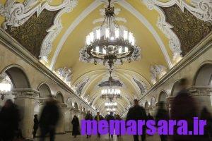 زیباترین متروی جهان در مسکو ! 017