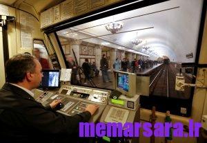 زیباترین متروی جهان در مسکو ! 018