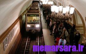 زیباترین متروی جهان در مسکو ! 002