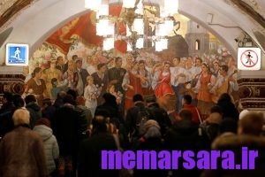 زیباترین متروی جهان در مسکو ! 003