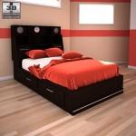 مجموعه مدل تخت خواب مدرن ( ژورنال تخت خواب )