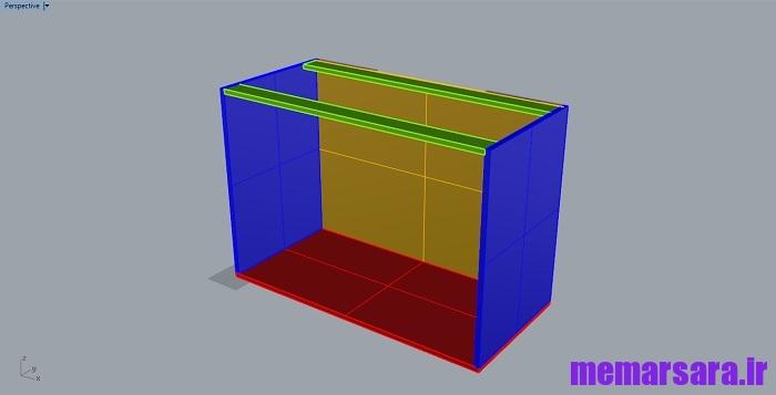 دانلود مدل سه بعدی کابینت