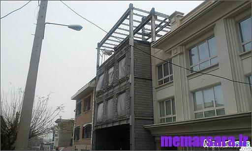 احداث چهار طبقه روی همکف در لواسان!  5