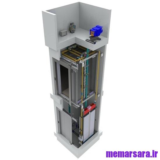 دانلود پروژه آسانسور ( درس روشهای اجرایی ساختمان )