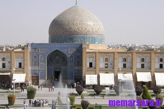 دانلود پاورپوینت مسجد شیخ لطف الله و نقش نور در آن