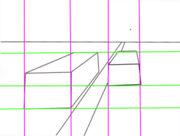 خطوط و افقی و عمودی