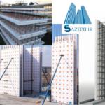 دانلود پاورپوینت سیستم ساختمانی سوپر پانل و تری دی پنل