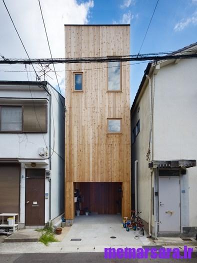 خانه ای در منطقه Nada در هیوگو کشور ژاپن