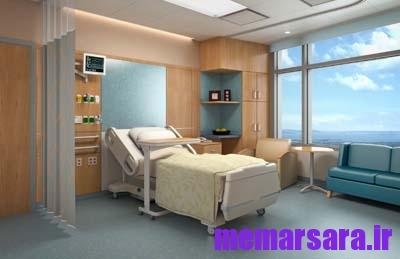 رندر داخلی بیمارستان