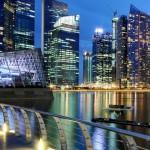 پس زمینه سنگاپور موبایل