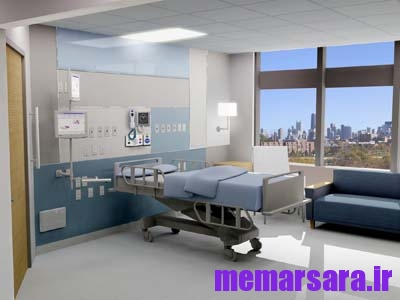 رندر بیمارستان
