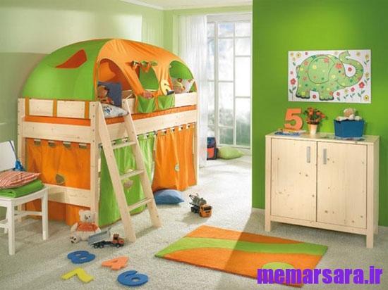 طراحی و چیدمان اتاق کودک
