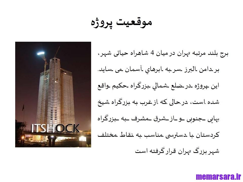 فایل سه بعدی برج بین المللی تهران