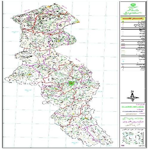 دانلود نقشه اتوکدی استان اردبیل