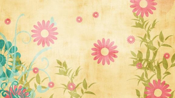 کاغذ دیواری گل درشت