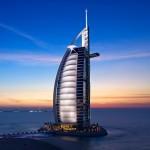 دانلود پاورپوینت برج العرب دبی با طرح سه بعدی