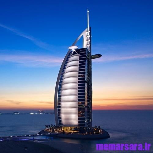 دانلود پاورپوینت برج العرب دبی 4kia