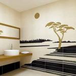 طراحی های مدرن حمام 2012