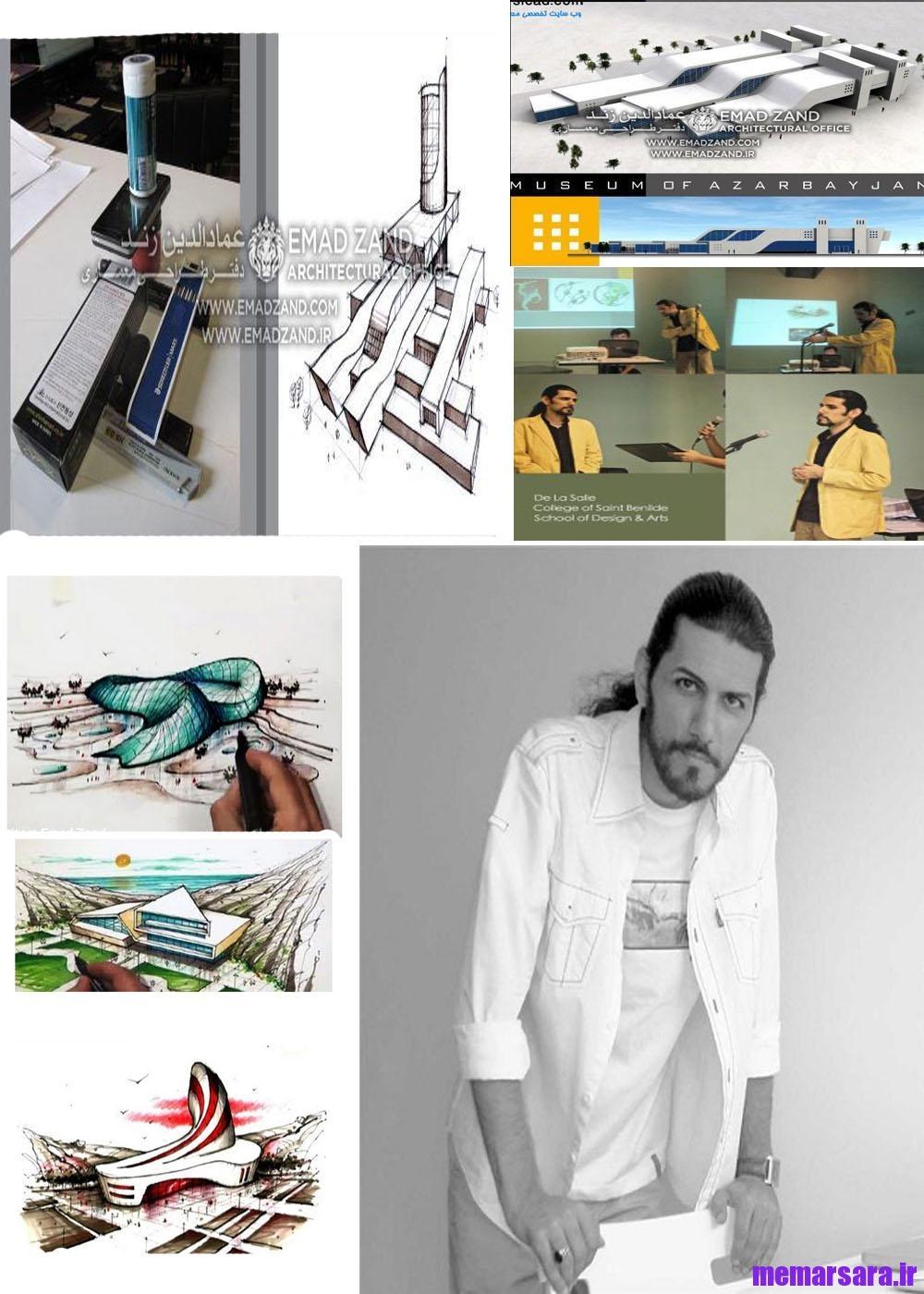 آموزش اسکیس خلاقیت در معماری ( عمادالدین زند )