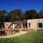 خانه جنگلی طراحی شده توسط استودیو PAD 1
