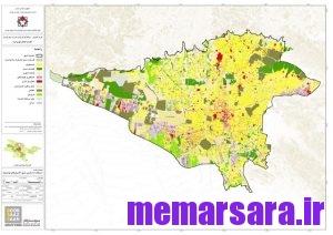 نقشه gis تهران 3