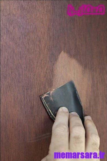 رنگ آمیزی مبلمان چوبی چگونه ؟!!