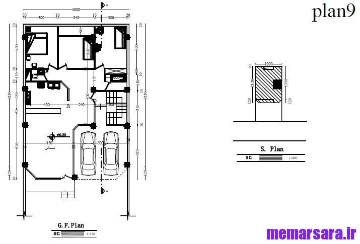دانلود مجموعه نقشه های ساختمانی