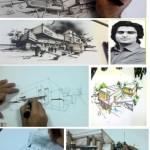آموزش اسکیس و راندو مهندس توسلی ( رتبه یک کارشناسی ارشد معماری )