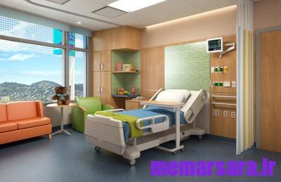 طراحی معماری بیمارستان